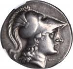 PAMPHYLIA. Side (Eski-Adalia). AR Tetradrachm (16.87 gms), Deino Magistrate, ca. 200-190 B.C.