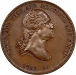 Circa 1875 Mount Vernon Chapter medal by George H. Lovett. Musante GW-832, Baker-306A. Copper. MS-65
