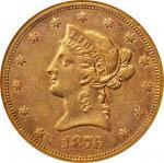 1876-S自由帽鹰金币 NGC AU 53 1876-S Liberty Head Eagle