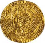 英国。爱德华四世,第一次统治(1461-70)1英镑金币。伦敦造币厰。