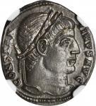 CONSTANTINE I, A.D. 307-337. AE Follis (2.49 gms), Rome Mint, AD 307-337.