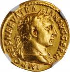 TRAJAN, A.D. 98-117. AV Aureus (6.67 gms), Rome Mint, A.D. 101-102. NGC VF, Strike: 5/5 Surface: 3/5