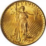 1924 Saint-Gaudens Double Eagle. MS-66+ (PCGS).