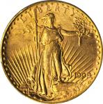 1909-S Saint-Gaudens Double Eagle. Unc Details--Altered Surfaces (PCGS).