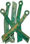 CHINA. Bronze Knife Money, ca. 400-220 B.C.