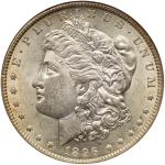 1896-O Morgan Dollar. NGC AU55