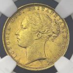 GREAT BRITAIN Victoria ヴィクトリア(1837~1901) Sovereign 1878 NGC-MS61 AU