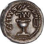 耶路撒冷犹太战争银币 NGC Ancients AU