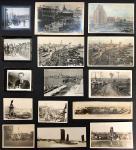 1910-1940年代老上海照片一批共15 件,包括外滩,,街景,日军在上海,上海普慈疗养院,何应钦及汪精卫等,内容较丰富.
