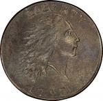 1793 Flowing Hair Cent. Sheldon-1. Rarity-4. Chain, AMERI. Mint State-61 BN (PCGS).