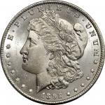 1892-CC Morgan Silver Dollar. MS-66 (PCGS).