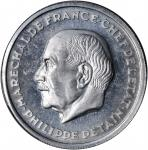FRANCE. 10 Franc Pattern Essai in Aluminum, 1941. PCGS SP-64 Secure Holder.