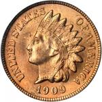 1909 Indian Cent. MS-66 RD (PCGS). CAC. OGH.