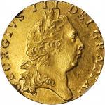 GREAT BRITAIN. Guinea, 1798. George III (1760-1820). NGC MS-63.