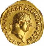 公元69年奥里斯币金币 NGC Ancients Ch XF VITELLIUS, A.D. 69. AV Aureus