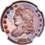 1834 Capped Bust Half Dime. NGC PF66