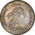 1799/8 Draped Bust Silver Dollar. Bowers Borckardt-141, Bolender-3. Rarity-3. 15 Stars Reverse. Mint