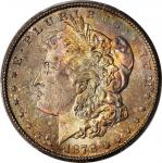 1878-CC Morgan Silver Dollar. MS-66 (PCGS).