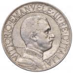 Savoy Coins;Vittorio Emanuele III (1900-1946) 2 Lire 1908 - Nomisma 1158 AG  - qBB;30