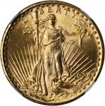 1924 Saint-Gaudens Double Eagle. MS-65 (NGC).