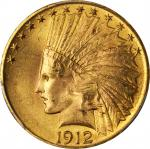 1912 Indian Eagle. MS-65 (PCGS).