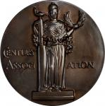1955 Century Association Award Medal. Bronze. 88.7 mm. By Paul Manship. Mint State.