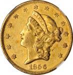 Lot of (4) 1856 Liberty Head Double Eagles. (NGC).