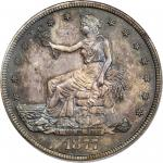 1877 Trade Dollar. Proof-66 (PCGS). CAC.