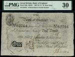 Bank of England, Henry Hase (1807-1829), 1, London, printed date 2 November 1814, serial number 6275