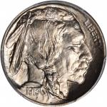 1913-D Buffalo Nickel. Type I. MS-67 (PCGS).