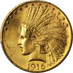 1916-S Indian Eagle. MS-63 (PCGS).
