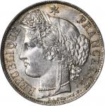 FRANCE. 5 Franc, 1851-A. NGC MS-63.