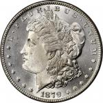 1879-S Morgan Silver Dollar. Reverse of 1878. Top 100 Variety. MS-65 (PCGS). CAC. OGH.