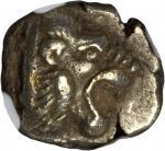 LESBOS. Mytilene. EL Hekte (2.59 gms), ca. 521-478 B.C.