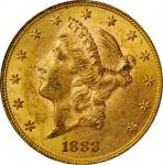 1888 Liberty Head Double Eagle. FS-801. Doubled Die Reverse. MS-61 (PCGS). CAC.