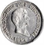 MEXICO. 1/2 Real, 1822-Mo JM. Mexico City Mint. Augustin I Iturbide. PCGS MS-61 Gold Shield.