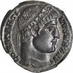 CONSTANTINE I, A.D. 307-337. AE Follis (2.33 gms), Constantinople Mint, ca. A.D. 327-328.