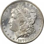 1879-CC Morgan Silver Dollar. Clear CC. MS-64+ (PCGS).