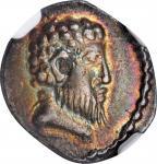 CELTIC BRITAIN. Atrebates. Eppillus, ca. 10 B.C.- A.D. 10. AR Unit. NGC EF.