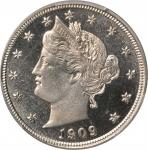1909 Liberty Head Nickel. Proof-67 Cameo (PCGS). CAC.