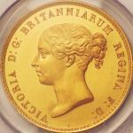 英国 (Great Britain) ヴィクトリア女王若き肖像<ウナとライオン> 5ポンド金貨 1839年 KM742 / Victoria <Una and the Lion> 5 Pounds G
