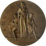 1952 United States Assay Commission Medal. Bronze. 51 mm. By Gilroy Roberts and Frank Gasparro. JK A