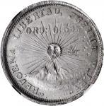MEXICO. Guerrero. 2 Pesos, 1915-GRO. NGC MS-64.