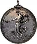 1897 United States Amateur Athletic Union Award Medal. Silver. 44.8 mm. 42.9 grams. By Victor David
