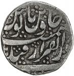 MUGHAL: Farrukhsiyar, 1713-1719, AR rupee 4011。36g41, Qandahar, DM, KM-375。66, with the mint epithet