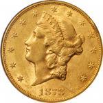 1878-CC Liberty Head Double Eagle. AU-55 (NGC).
