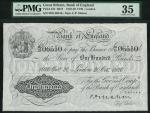 Bank of England, Cyril Patrick Mahon (1925-1929), 」100, London 15 May 1925, serial number 05/S 09988