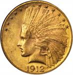 1912 Indian Eagle. MS-62 (NGC). CAC.