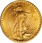 1927 Saint-Gaudens Double Eagle. MS-62 (PCGS).