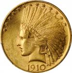 1910 Indian Eagle. MS-63 (PCGS).